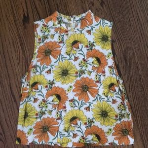 Topshop - Crop Tank Top - Size 6 - worn once